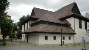 Kežmarský drevený kostol je zapísaný na Zozname UNESCO.