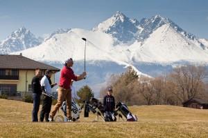 SKIGOLF 2015 Adam Zampa na golfe