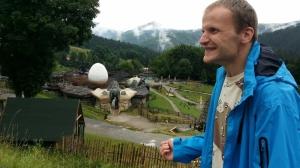 Andrej na tohtoročnej dovolenke. Aj on žije v Drahuškove.