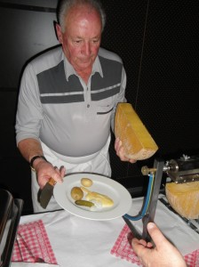 Príprava raclette